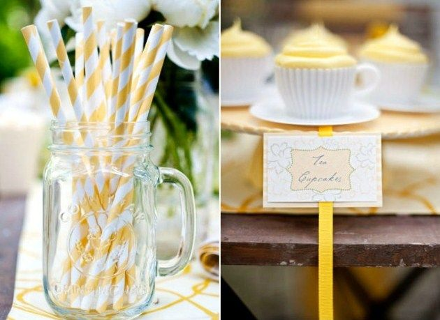 yellow straws...love it!