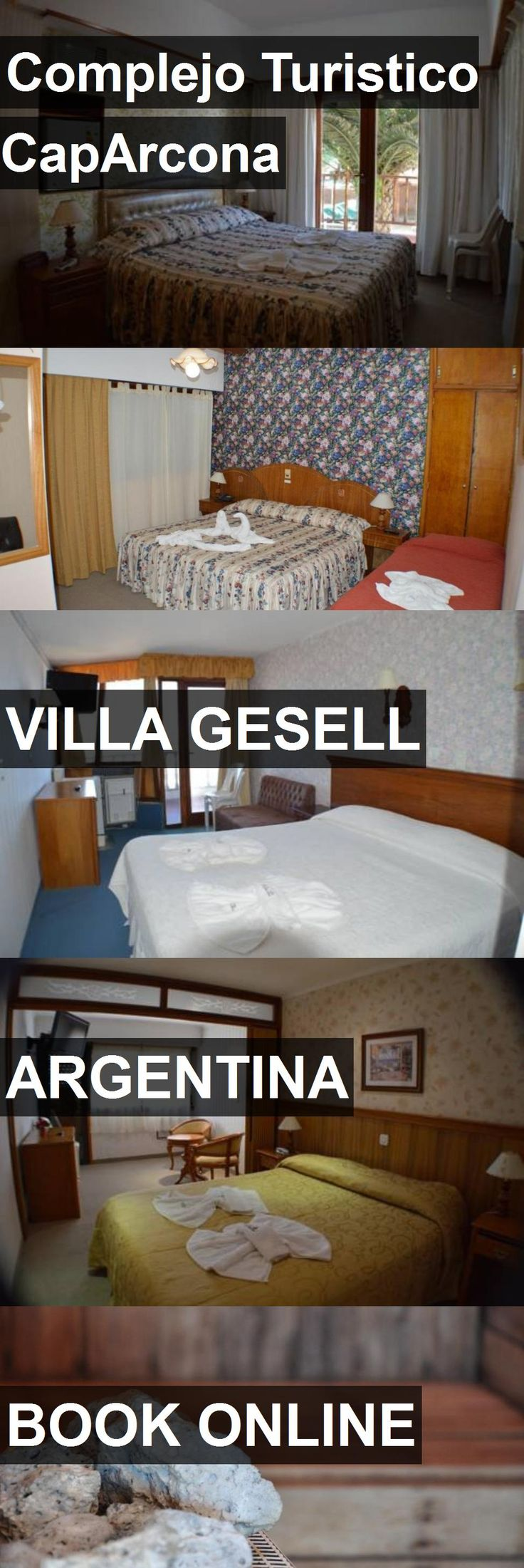 Hotel Complejo Turistico CapArcona in Villa Gesell, Argentina. For more information, photos, reviews and best prices please follow the link. #Argentina #VillaGesell #ComplejoTuristicoCapArcona #hotel #travel #vacation