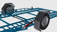 DIY Hydraulic Car Trailer Plans - Start building your own trailer today - CDROM