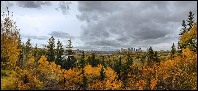 Edmonton River Valley In Fall Colors | Flickr - Photo Sharing!