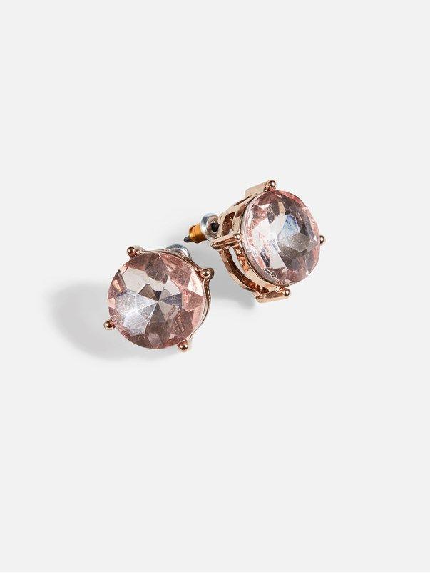 Bling earrings | | Vaalea pinkki | BikBok | Suomi