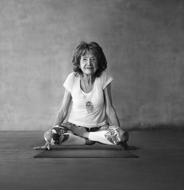 The World's Oldest Yoga Teacher Has Some A+ Advice | The Huffington Post