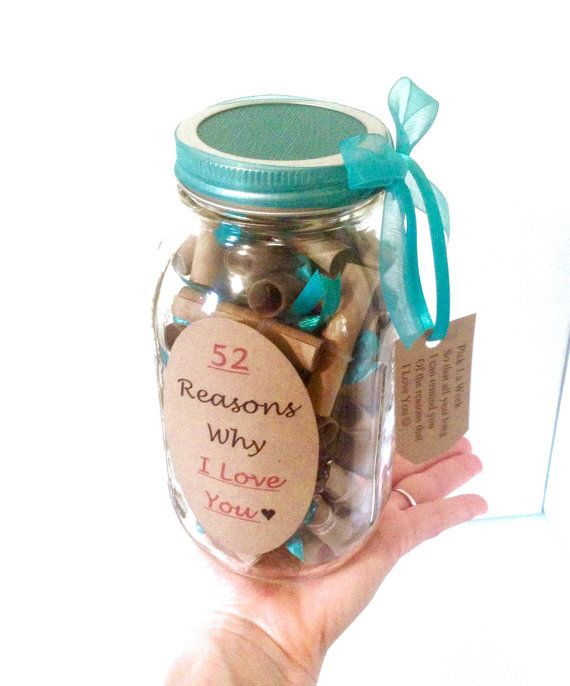 52 Reasons Why I Love You Teal by JOsPrettyPantry on Etsy