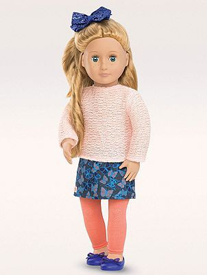 Our Generation 18-inch Doll Fashionably Fluttery Outfit