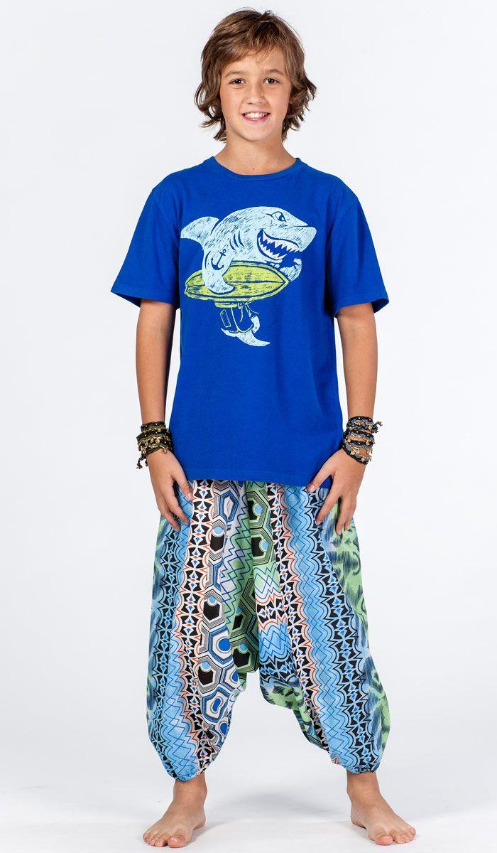 Детские шаровары для мальчика, алладины детские, индийская детская одежда, одежда для детей из Индии. Boy`s alladin pants, yoga pants for kid. 1120 рублей