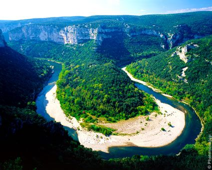 Hard to believe that (quite) some years ago I kayaked around the Ardeche Gorge, France!