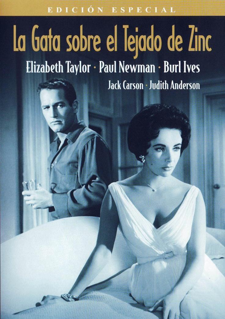 La gata sobre el tejado de zinc (1958) EEUU. Dir: Richard Brooks. Drama. Familia. Homosexualidade. Enfermidade. Drogas - DVD CINE 267