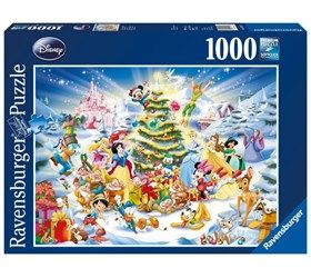 Disney: Christmas 1000 Brikker Puslespill