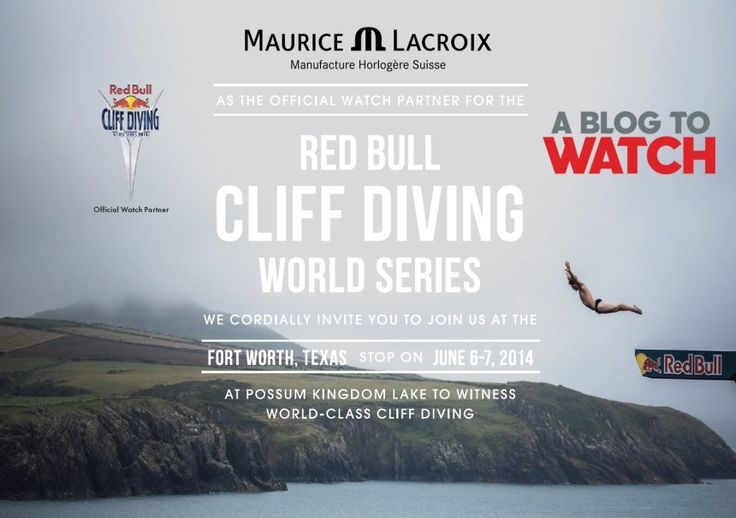 Winner Announced: Maurice Lacroix Red Bull Cliff Diving World Series Trip - See who it is on aBlogtoWatch.com - We've been giving away a lot of stuff lately... See all our giveaways and enter to win a Swatch watches family pack at the GIVEAWAYS tab on our homepage
