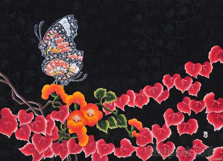 Корейская живопись. Хван Сон Хва - Hwang Seon Hwa (황선화). Республика Корея