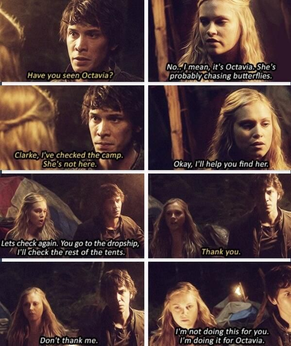 The 100 - Bellamy & Clarke, is it wrong I want this couple so bad?
