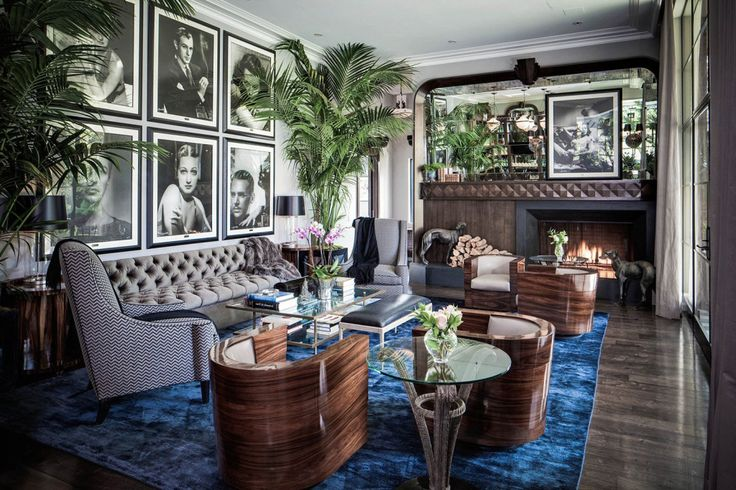 """The term """"Art Deco"""" is an abbreviation of the French words """"Decorative Arts"""", the call about a """"decorating arts"""". The Art Deco-style brings us back to the 20s and 30s of the 20th century, just after the First World War, when the people were longing for a little luxury in life. #interiorsdesign #decor"""