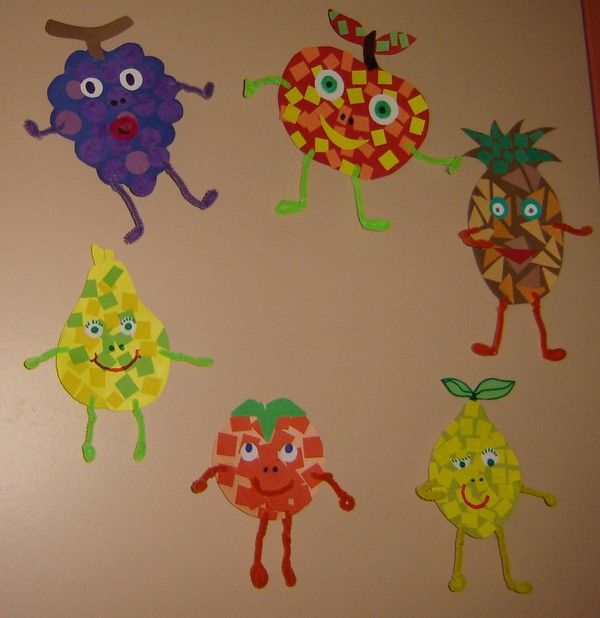 pour apprendre le nom des fruits de saison et réviser ses couleurs