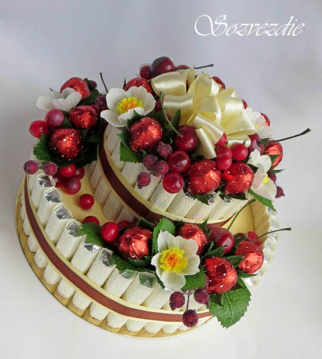 (1) Gallery.ru / Фото #7 - Тортики из конфет - sozvezdie