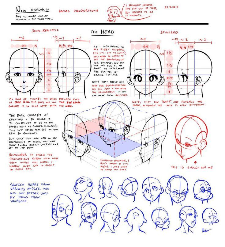 Cartoon Faces Proportions Drawings En 2020 Tutorial De Dibujo Drawing Lessons Como Dibujar Manga