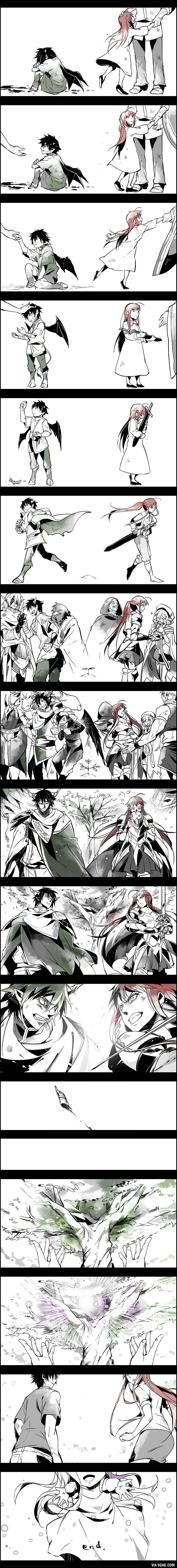 Hataraku Maou-sama! (はたらく魔王さま!) [Light Novel & Manga] - Page 49 - AnimeSuki Forum - note to self... Check this out later.