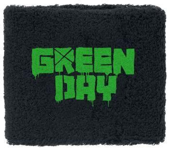 Polsino dei #GreenDay con logo ricamato. Dimensioni: 8 x 8 cm circa. 80% cotone, 12% elasthane, 8% nylon.