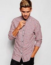 Selected Homme Gingham Shirt in Slim Fit