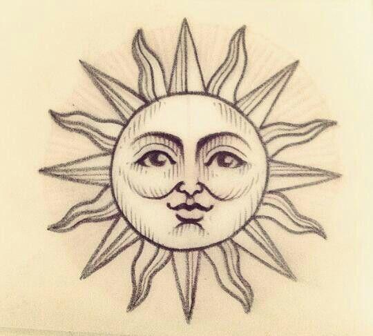 sun face tattoo wwwimgkidcom the image kid has it
