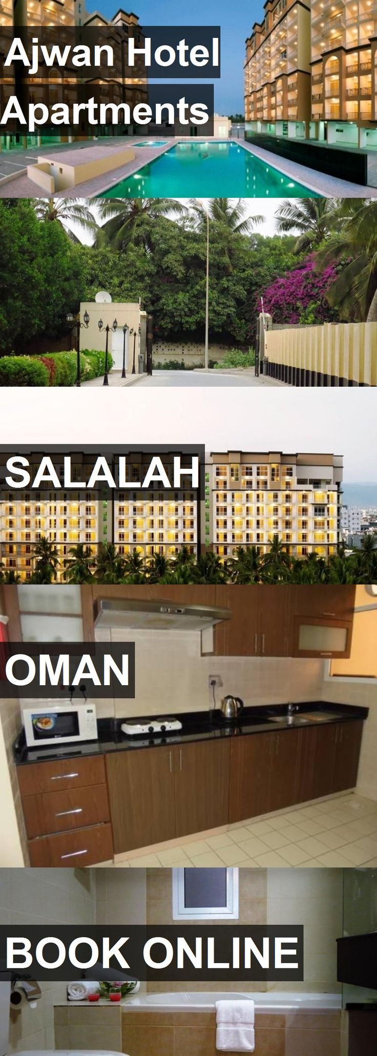Ajwan Hotel Apartments in Salalah, Oman. For more information, photos, reviews and best prices please follow the link. #Oman #Salalah #travel #vacation #hotel #apartment
