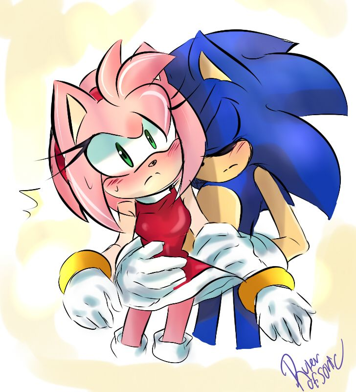793 best images about sonamy on pinterest shadow the - Sonic et shadow ...