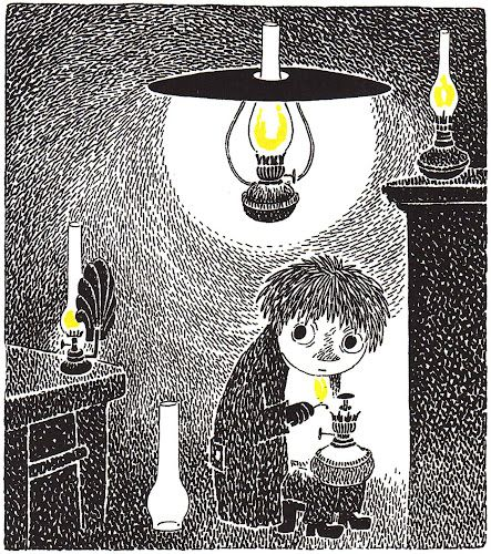 'Who Will Comfort Toffle?' by Tove Jansson ), published by Schildts, 1960
