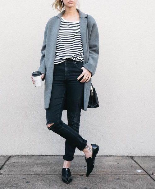 Außer den Schuhen mag ich das Outfit sehr