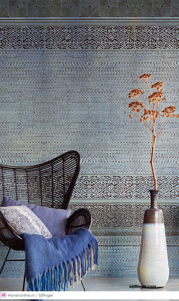 SIROC Wallpaper. Colour-scheme for living room