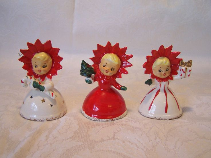189 Best Christmas Ceramic Figures Images On Pinterest