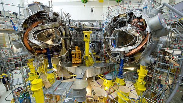 Fusion power contained in a Stellarators coming online next year!