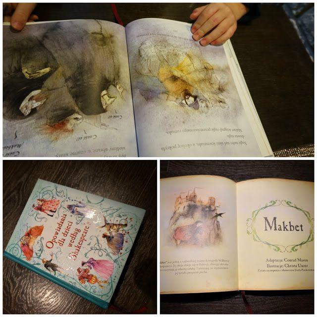 """kreatywnyMaks: """" Opowiadania dla dzieci według  Shakespeare'a """""""
