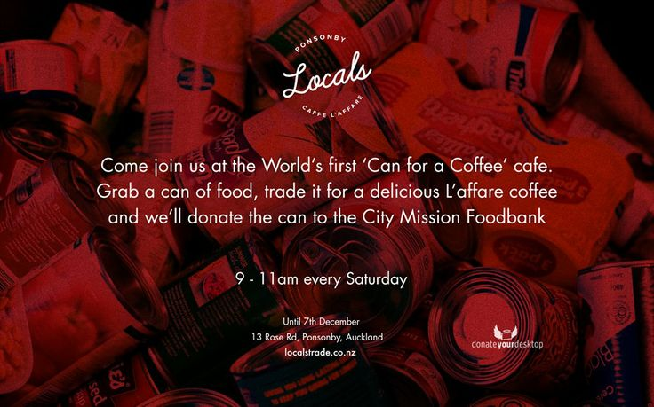 World's First Can for a Coffee Cafe | Locals Trade Espresso Bar