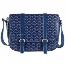 Goyard Messenger Bag MM Blue