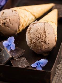 Lody czekoladowe #recipe #panitereska #lody #lato