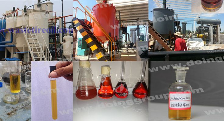 Our pyrolysis oil to diesel plant refinery can process tyre crude oil, plastic crude oil and waste engine oil into diesel. It is the latest design which is unique in China market. The oil rate is 85%. The pyrolysis  oil can be used for diesel generator, boiler, trucks, tractors and agricultural vehicles etc.