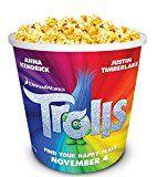 #6: Trolls Movie Theater Exclusive 130 Plastic Popcorn Tub http://ift.tt/2cmJ2tB https://youtu.be/3A2NV6jAuzc
