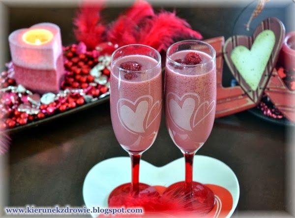 kierunek zdrowie: Eliksir miłości - koktajl walentynkowy