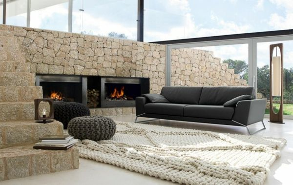 Elegant Eckiges Sofa Elegantes Wohnzimmer