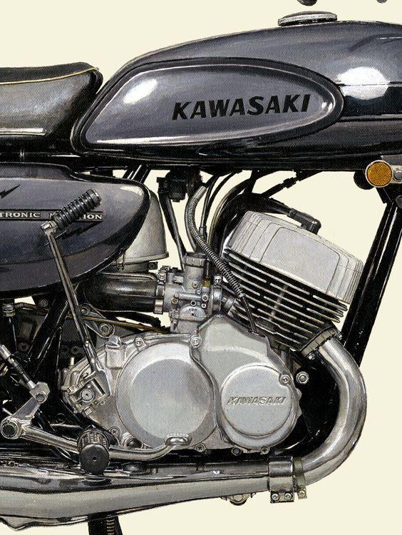 1969 KAWASAKI 500SS MachIII