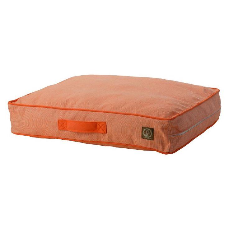 One For Pets Siesta Spanish Indoor/Outdoor Classic Pillow Bed Orange - 1808-ORANGE-M