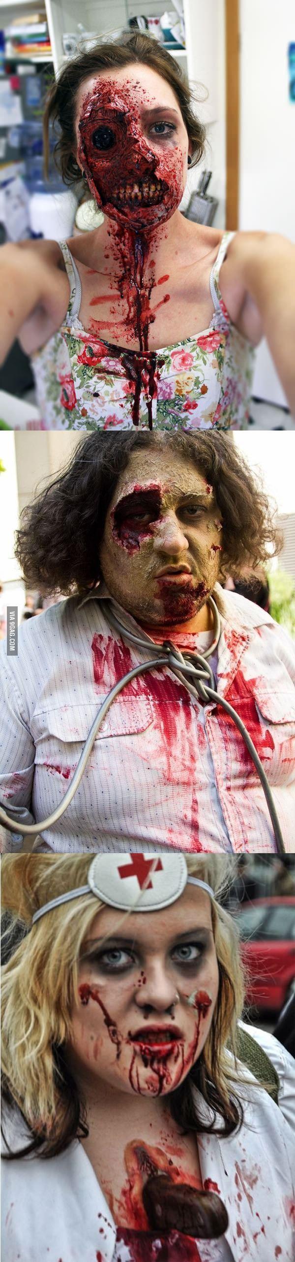 Zombie makeup level: master