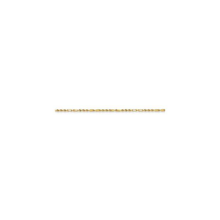 14k Yellow Gold 1.25mm Milano Rope Chain Anklet 10 Inch >>> You can get additional details at the image link. (This is an Amazon Affiliate link and I receive a commission for the sales)