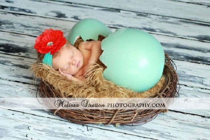 The Cutest Easter Newborn Photography Ideas