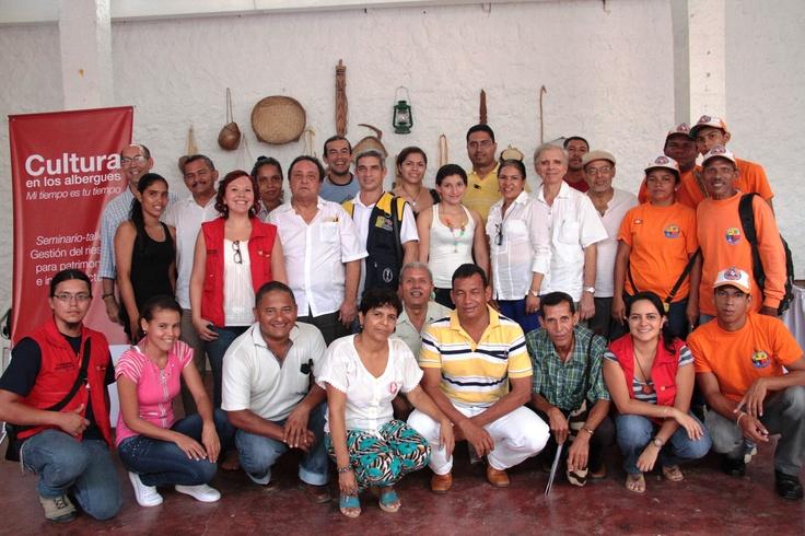 Los participantes al Seminario