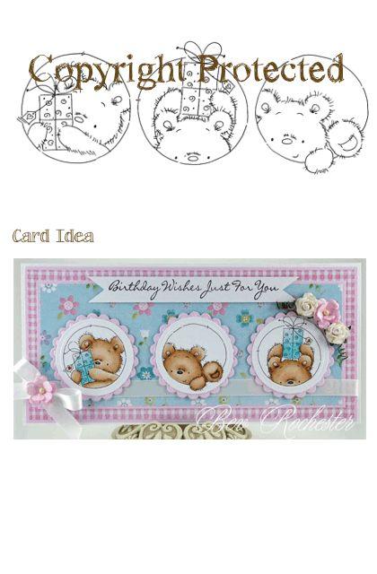 *Stamp* - Present Trio