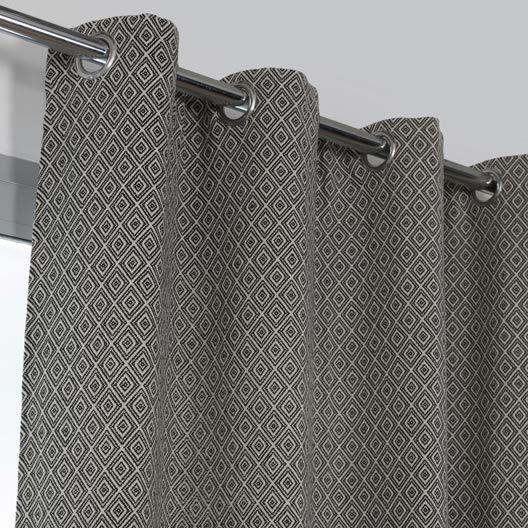 1000 id es propos de rideau noir et blanc sur pinterest. Black Bedroom Furniture Sets. Home Design Ideas