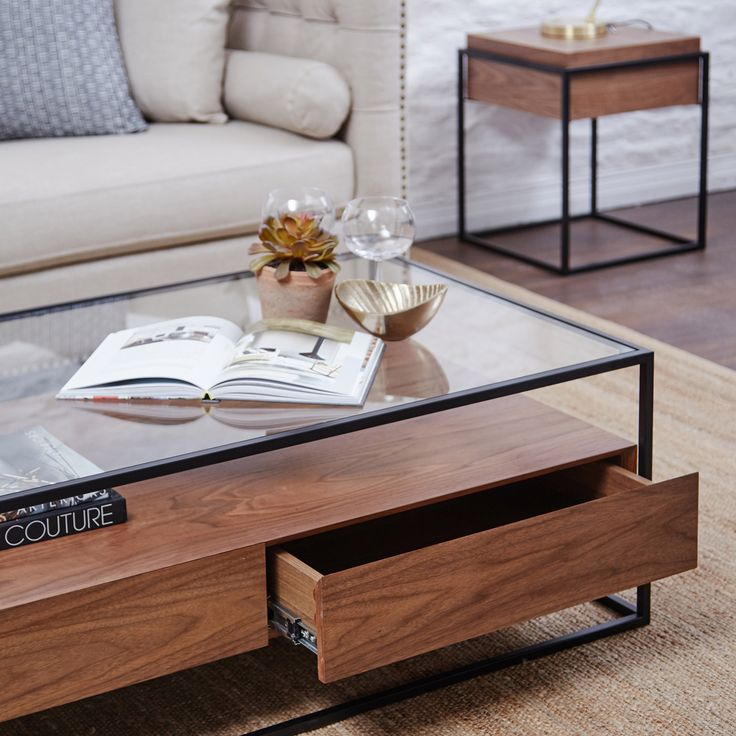 The Ashabi Coffee Table is expertly crafted with the finest solid walnut & is fast on it's way to being to being AW17s favourite!