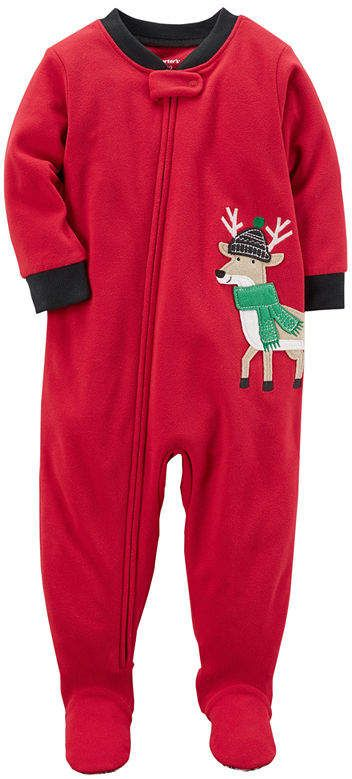 25cac7914 Carter s Long Sleeve One Piece Pajama-Baby Boys