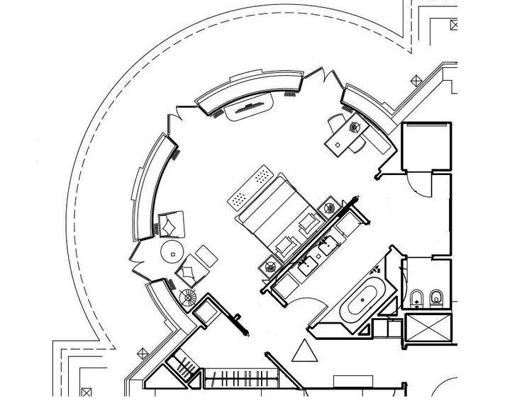 Four Seasons Hotel Baku Premier Rooms 70 M2 751 Sq Ft Hotel Room Design Plan Hotel Lobby Design Hotel Floor Plan