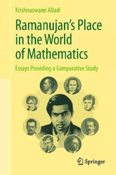 This book is a collection of articles, all by the author, on the Indian mathematical genius Srinivasa Ramanujan as well as on some of the greatest mathematicians throughout the history whose life and